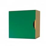 Dětská skříňka Vario s dvířky se zelenou tabulí 50x50x40 cm  0L775