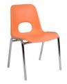 Dětská stohovatelná  židle Helene Picola a Media s plastovým sedákem