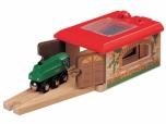 Dětské dřevěné Depo s vraty 5850940