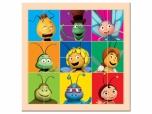Dětské dřevěné Puzzle dělené hlavičky Včelka Mája 3713629