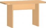 Dětský konferenční stolek  60x40 cm 0L264M