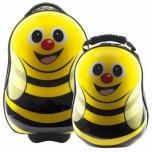 Dětský kufr a batůžek Cuties and Pals - Sada