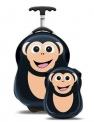 Dětský kufr a batůžek Cuties and Pals - Šimpanz
