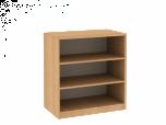 Dřevěná dětská skříň policová - nízká/ široká