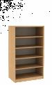 Dřevěná dětská skříň široká policová střední výška