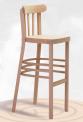 Dřevěná ohýbaná barová židle Marconi Bar 5193