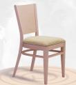 Dřevěná ohýbaná čalouněná židle Arol P 2197