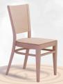 Dřevěná ohýbaná židle Arol 1197
