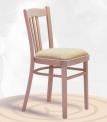 Dřevěná ohýbaná židle čalouněná Lucena P 2195