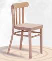 Dřevěná ohýbaná židle Marconi 1193