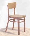 Dřevěná ohýbaná židle Nico 1196