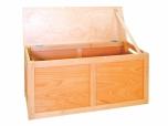 Dřevěná úložná bedna 120x58x45 cm (ŠxVxH) 0D102M