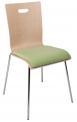 Konferenční židle Tulip dřevěný nebo čalouněný sedák