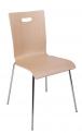 Alba Konferenční židle Tulip dřevěná