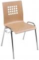 Alba Konferenční židle Viola - dřevěná nebo čalouněný sedák