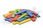 Dřevěné destičky barevné