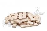 Dřevěné destičky přírodní