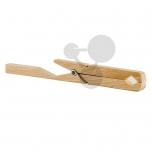 Dřevěné kleště na baňky a zkumavky do 35 mm
