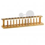 Dřevěný stojan na 12 zkumavek
