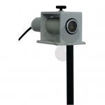 Držák pro ultrazvukový vysílač a přijímač
