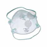 Filtrační polomaska s ventilem