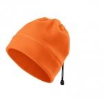 Fleecová reflexní čepice - oranžová