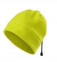 Fleecová reflexní čepice - žlutá