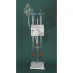 Hoffmanův přístroj na elektrolýzu vody, kompletní souprava