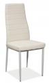 Jídelní židle H-261 - BÍLÁ