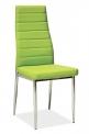 Jídelní židle H-261 - ZELENÁ