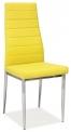 Jídelní židle H-261 - ŽLUTÁ