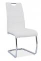 Jídelní židle H-666 - BÍLÁ