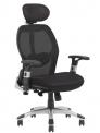 Kancelářská židle Merkur ECO Peška čalouněná - SLEVA nebo DÁREK