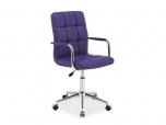 Kancelářská židle (křeslo) Q022 - fialová