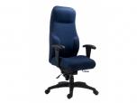 Pracovní čalouněné zátěžové křeslo (židle) 2438-16 Maxima II pro nepřetržitý provoz - SLEVA nebo DÁREK a DOPRAVA ZDARMA