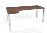 Kancelářský stůl UNI UE 1800 P Egro pravý