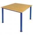 KLASIK jídelní stůl čtyřmístný 80x80 cm