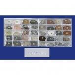 Kolekce horninotvorných minerálů, 10 minerálů a 30 hornin