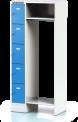 Kompaktní šatnová sestava Office KYK 5 55 S