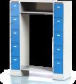 Kompaktní šatnová sestava Office KYK 5 90 5