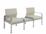 Vícemístné čalouněné křeslo (sofa) Morfeo 102 + TA se stolkem - SLEVA nebo DÁREK
