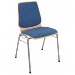 Konferenční židle Kamila čalouněný sedák a opěrák