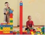 Dětská plastová Konstrukční stavebnice 040277