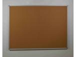Korková nástěnka hliníkový rám 90x60 cm