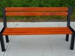 Kovová lavička Zlín 1- moderní lavičky