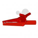 Krokosvorky s odbočkou v bezpečnostním provedení, červené