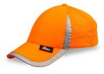 Kšiltovka s reflexními prvky - oranžová