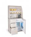 Kuchyň s chladničkou, dřezem a baterií KU 2 3 L levá