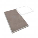 Kuchyňská pracovní rohová deska levá DEP 150 L