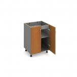 Kuchyňská skříňka spodní široká dřezová KUDD 60 D